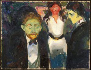 """Celos"", Edvard Munch."