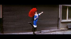 Anna Karina en Une femme est une femme, de Jean–Luc Godard.